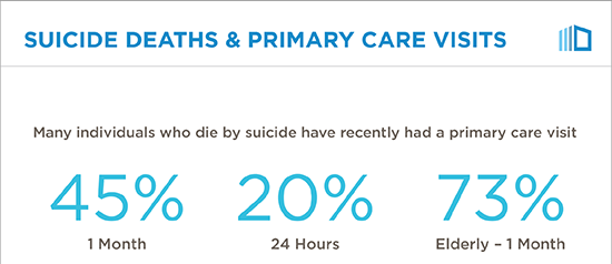Suicide Deaths and Primary Care Visits
